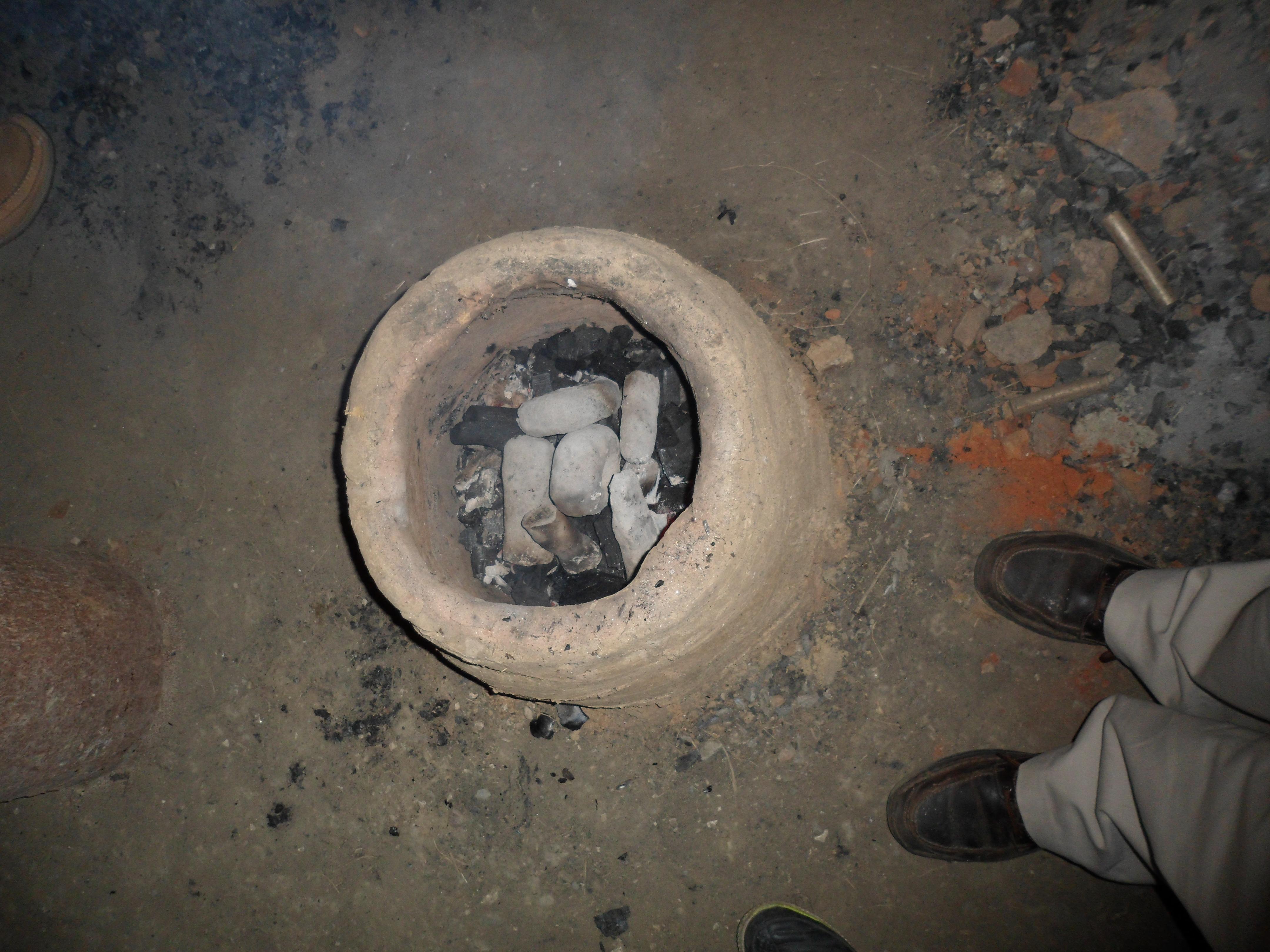 SAM_2767 Moulds in Kiln