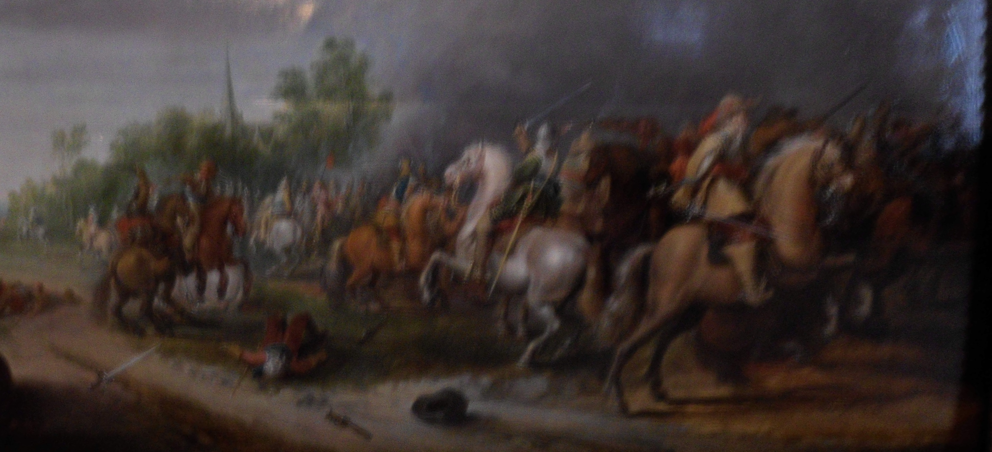 On the Internet as in a cavalry fight, there are too many things flashing in front of your face.  Unknown painting of an incident in the Thirty Years' War, Heeresgeschichtliche Museum, Wien.