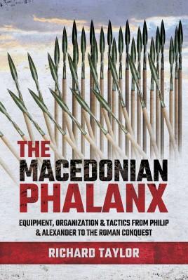 "Cover of ""The Macedonian Phalanx"" by Richard Taylor"